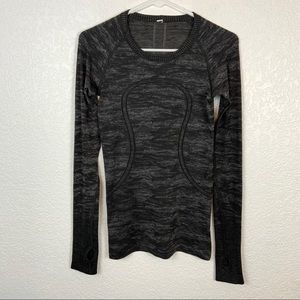 Lululemon Swiftly Tech Long Sleeve Dark Gray